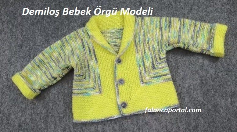 Demiloş Bebek Örgü Modeli