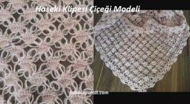 Haseki Küpesi Çiçeği Modeli 1
