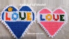 Kalp Aşk Lif Modeli