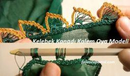 Kelebek Kanadi Kalem Oya Modeli 1