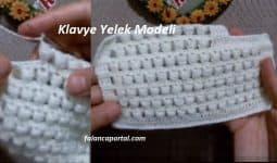 Klavye Yelek Modeli 1