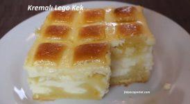 Kremalı Lego Kek 1