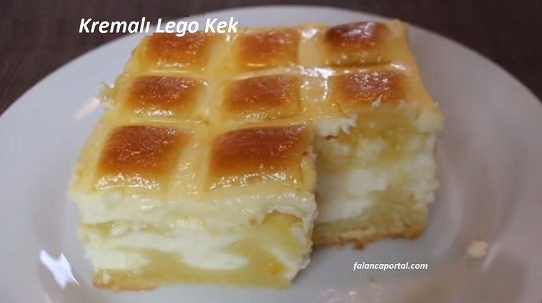 Kremalı Lego Kek