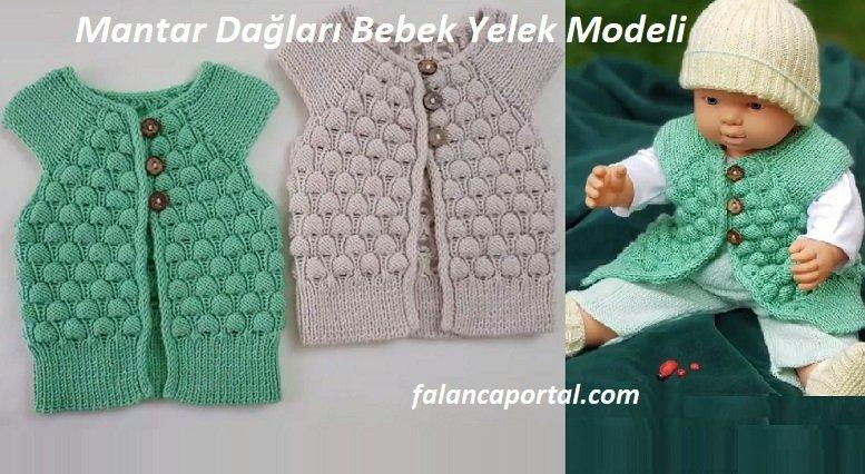 Mantar Dağları Bebek Yelek Modeli