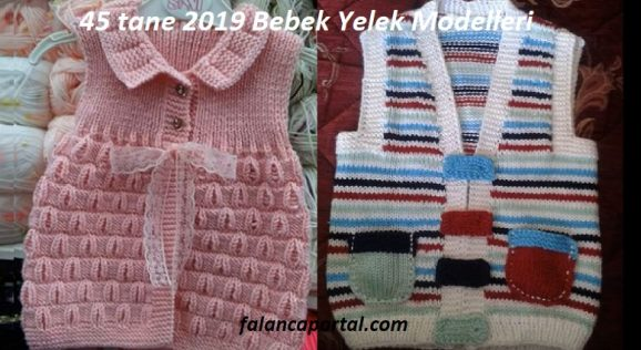 45 tane 2019 Bebek Yelek Modelleri 1