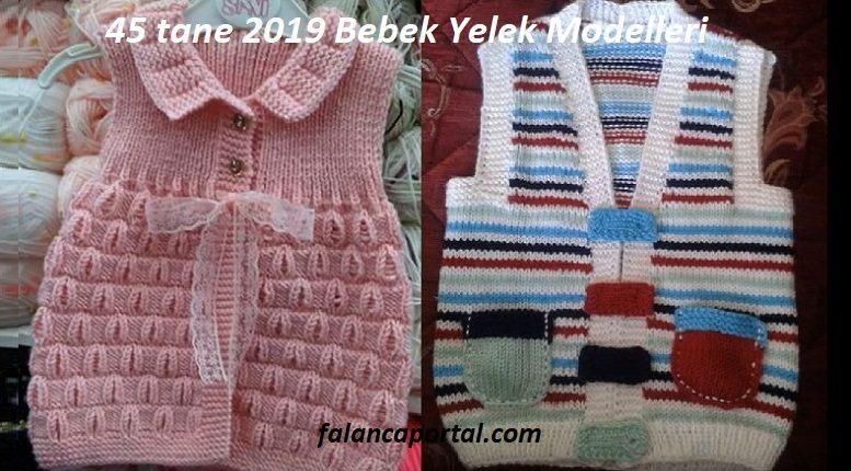 45 tane 2019 Bebek Yelek Modelleri