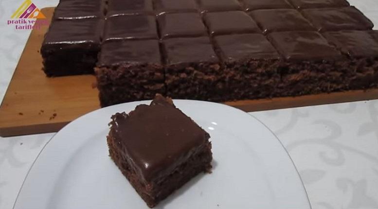 Akıllardan Çıkmayacak Çikolatalı Gün Keki