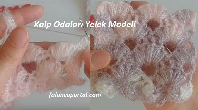Kalp Odaları Yelek Modeli