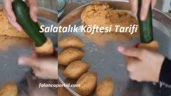 Salatalık Köftesi Tarifi