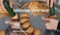 Salatalık Köftesi Tarifi 1