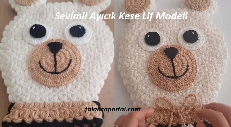 Sevimli Ayıcık Kese Lif Modeli