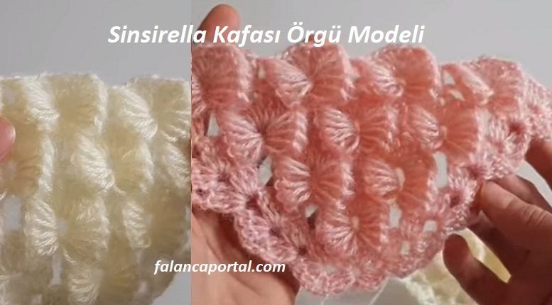 Sinsirella Kafası Örgü Modeli