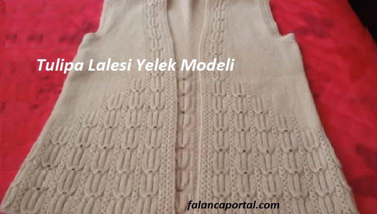 Tulipa Lalesi Yelek Modeli 1