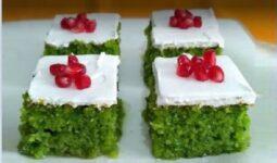 Yaz Yeşili Revani Tarifi 2