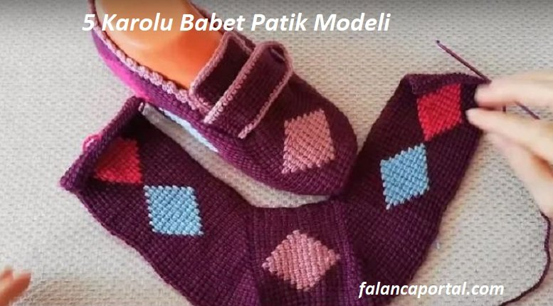 5 Karolu Babet Patik Modeli