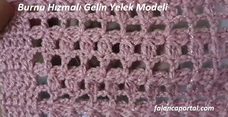 Burnu Hızmalı Gelin Yelek Modeli 1