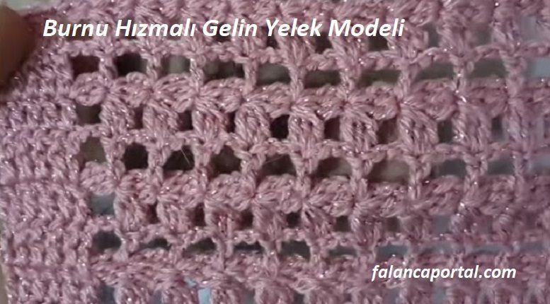 Burnu Hızmalı Gelin Yelek Modeli