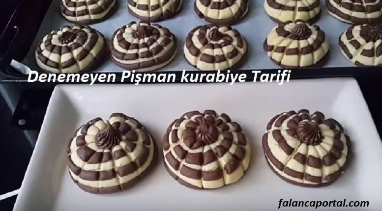 Denemeyen Pişman kurabiye Tarifi