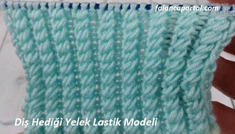 Diş Hediği Yelek Lastik Modeli 1