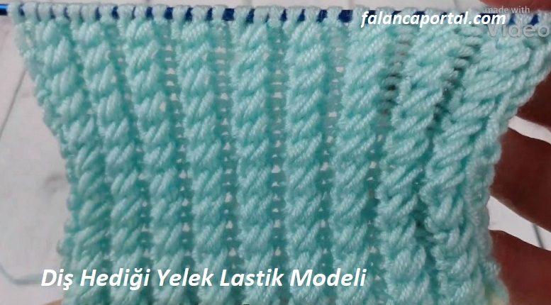 Diş Hediği Yelek Lastik Modeli