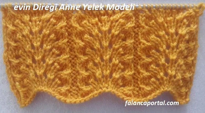 Evin Direği Anne Yelek Modeli 1