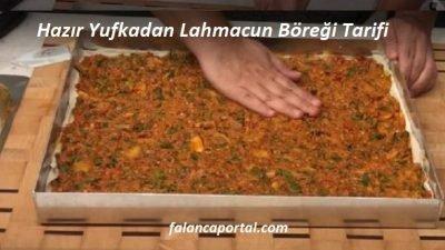 Hazır Yufkadan Lahmacun Böreği Tarifi