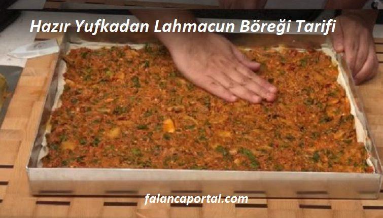 Hazır Yufkadan Lahmacun Böreği Tarifi 1
