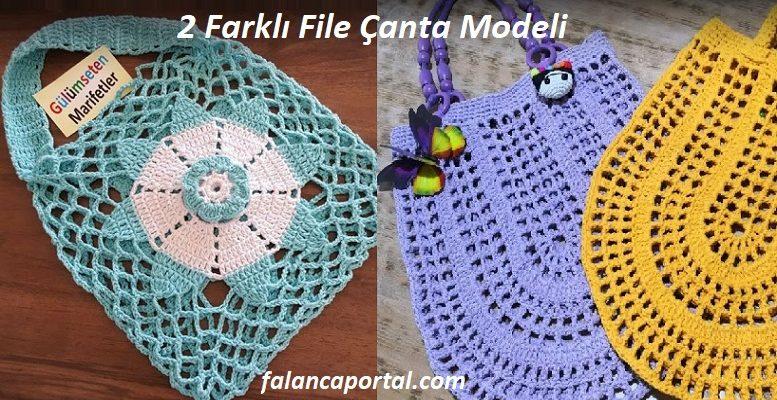 2 Farklı File Çanta Modeli 1