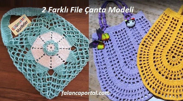 2 Farklı File Çanta Modeli