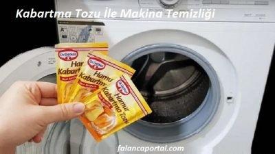 Kabartma Tozu İle Makina Temizliği