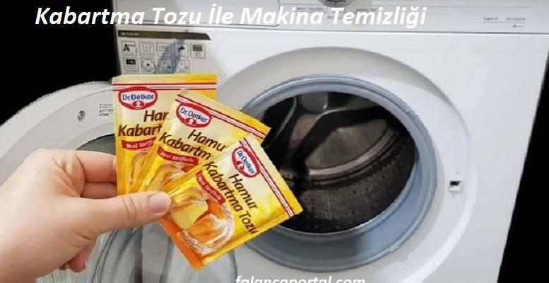 Kabartma Tozu İle Makina Temizliği 1