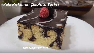 Keki Kıskanan Çikolata Tatlısı