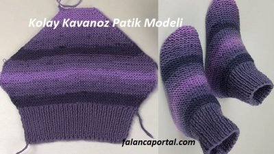 Kolay Kavanoz Patik Modeli