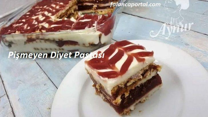 Pişmeyen Diyet Pastası