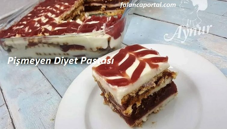Pişmeyen Diyet Pastası 1