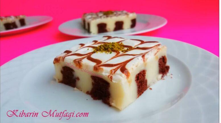 Ağız Sulandıran Dolgulu Kek Pasta Tarifi