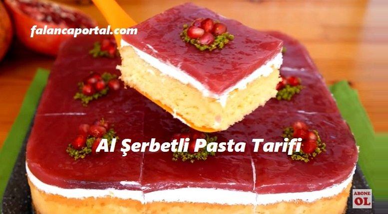 Al Şerbetli Pasta Tarifi
