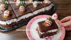 Ev Sosu İle 25 Kişilik Pasta Tarifi