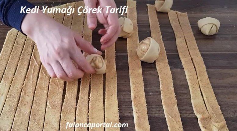 Kedi Yumağı Çörek Tarifi