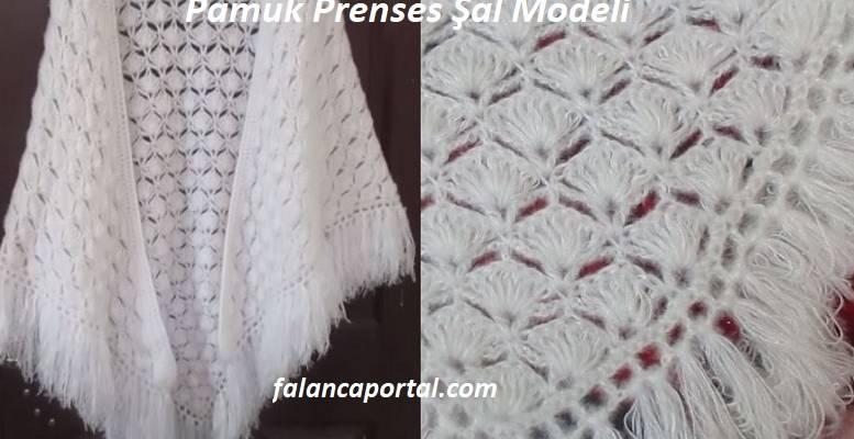 Pamuk Prenses Şal Modeli 1
