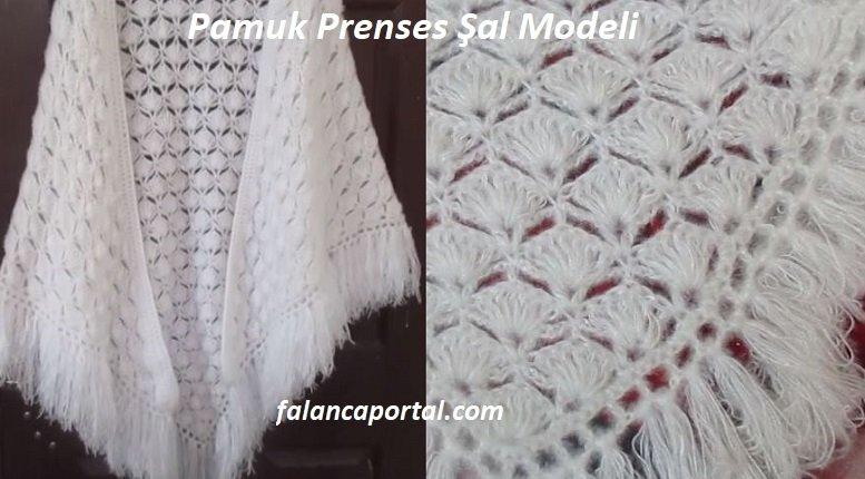 Pamuk Prenses Şal Modeli