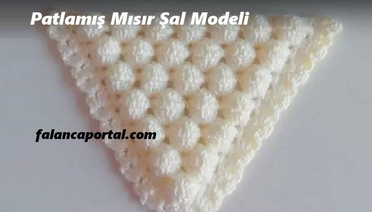 Patlamış Mısır Şal Modeli 1