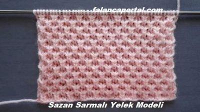 Sazan Sarmalı Yelek Modeli