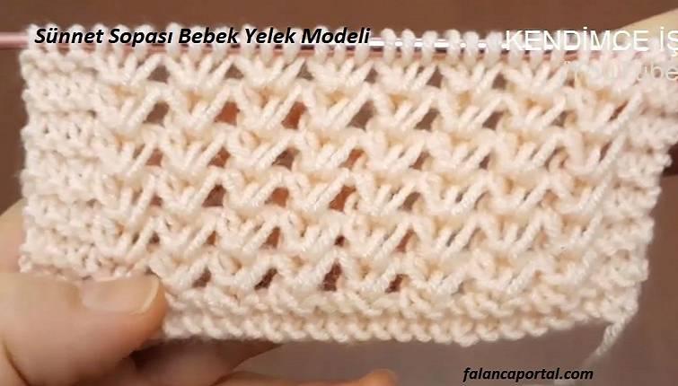 Sünnet Sopası Bebek Yelek Modeli 1