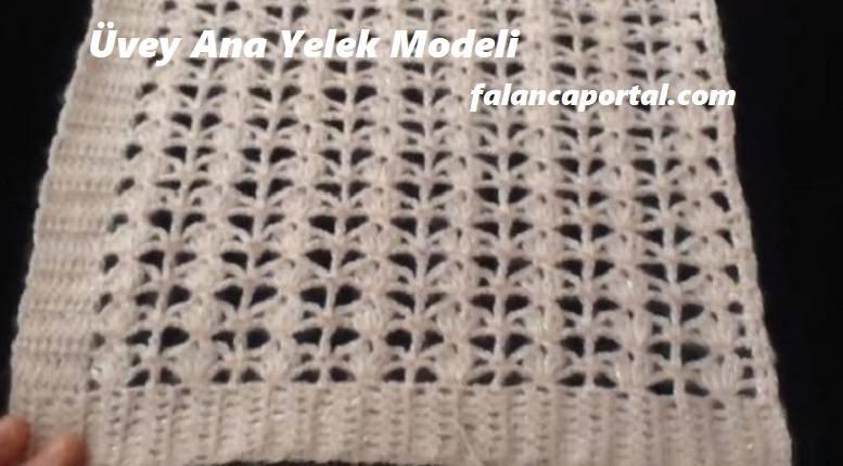 Üvey Ana Yelek Modeli