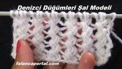 Denizci Düğümleri Şal Modeli