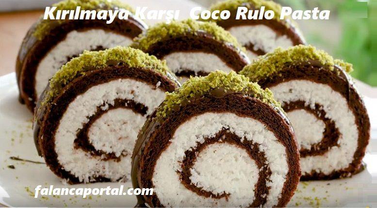 Kırılmaya Karşı  Coco Rulo Pasta