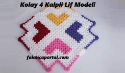 Kolay 4 Kalpli lif modeli 1