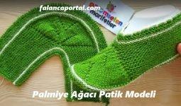 Palmiye Ağacı Patik Modeli 1