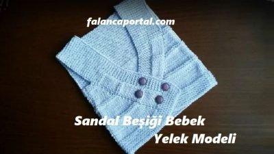 Sandal Beşiği Bebek Yelek Modeli